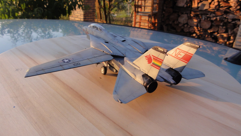 F-14A Tomcat Wolfpack 1/72 Academy(noooot) Dsc01013