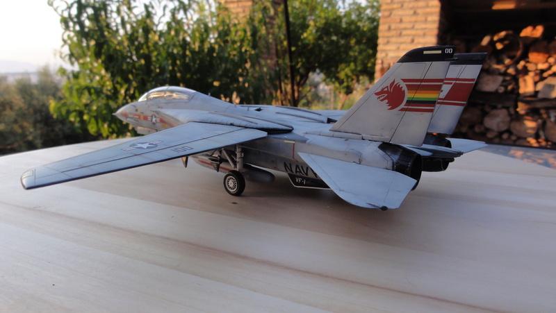 F-14A Tomcat Wolfpack 1/72 Academy(noooot) Dsc01014