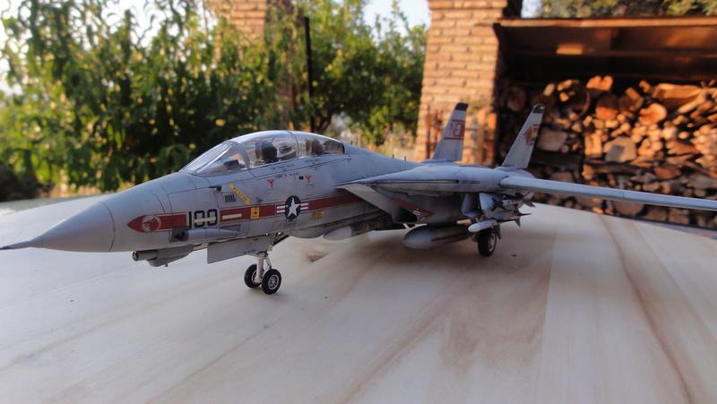 F-14A Tomcat Wolfpack 1/72 Academy(noooot) Dsc01015