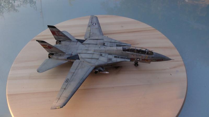 F-14A Tomcat Wolfpack 1/72 Academy(noooot) Dsc01018