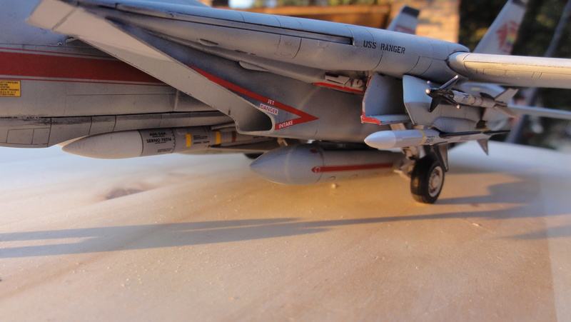 F-14A Tomcat Wolfpack 1/72 Academy(noooot) Dsc01019