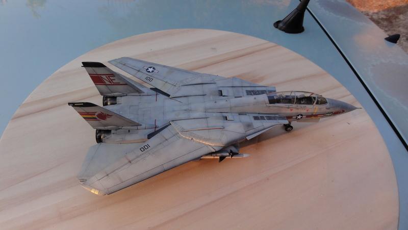 F-14A Tomcat Wolfpack 1/72 Academy(noooot) Dsc01022