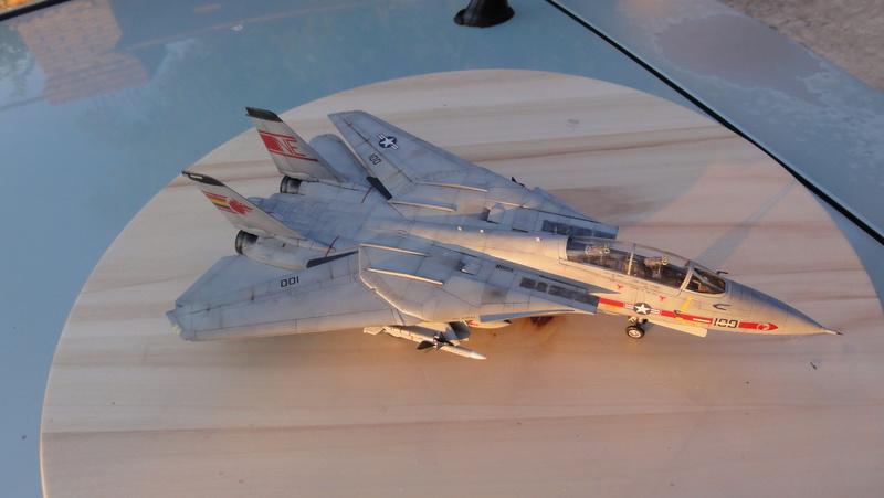 F-14A Tomcat Wolfpack 1/72 Academy(noooot) Dsc01023