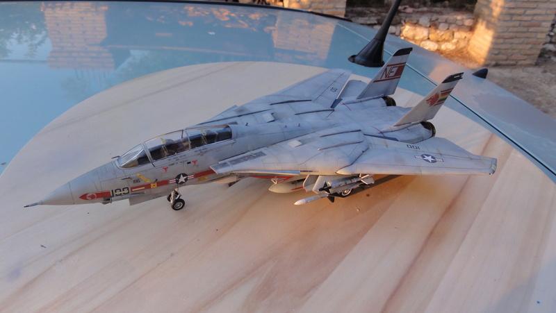 F-14A Tomcat Wolfpack 1/72 Academy(noooot) Dsc01025