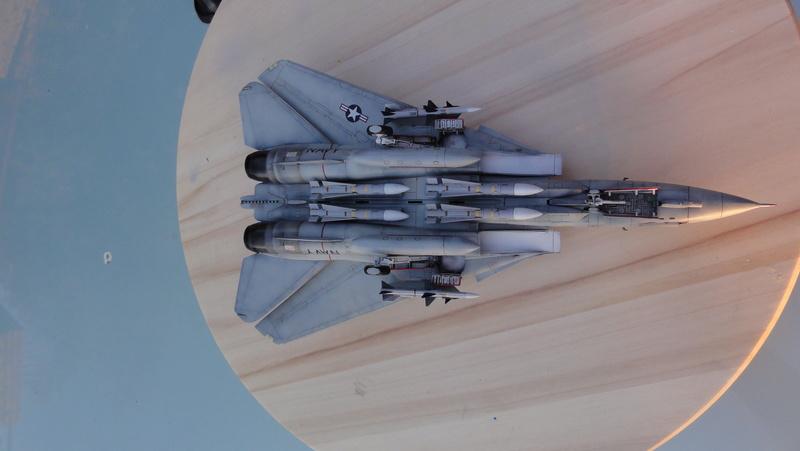 F-14A Tomcat Wolfpack 1/72 Academy(noooot) Dsc01027