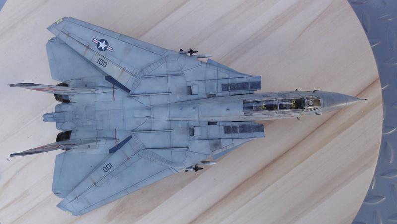 F-14A Tomcat Wolfpack 1/72 Academy(noooot) Dsc01029