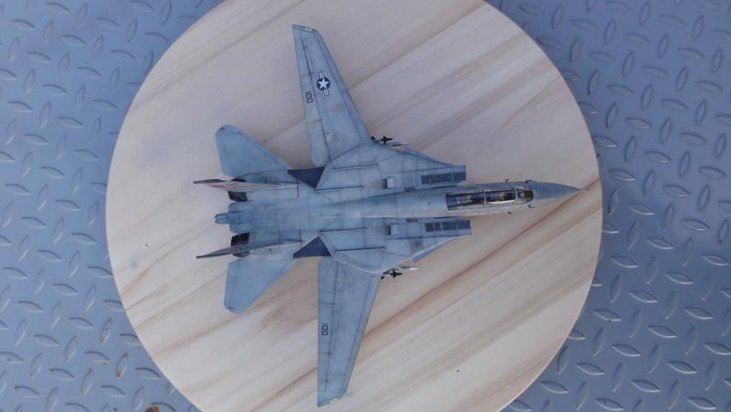 F-14A Tomcat Wolfpack 1/72 Academy(noooot) Dsc01030