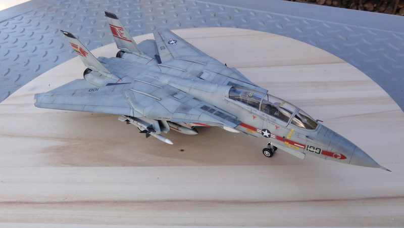 F-14A Tomcat Wolfpack 1/72 Academy(noooot) Dsc01032