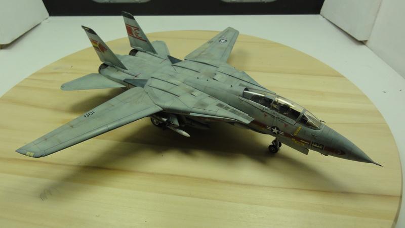F-14A Tomcat Wolfpack 1/72 Academy(noooot) Dsc01033