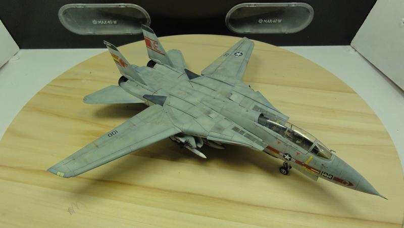 F-14A Tomcat Wolfpack 1/72 Academy(noooot) Dsc01034