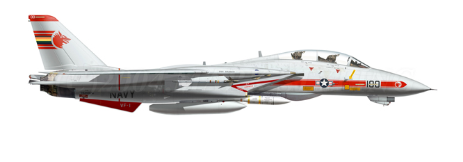 F-14A Tomcat Wolfpack 1/72 Academy(noooot) F-14-n12