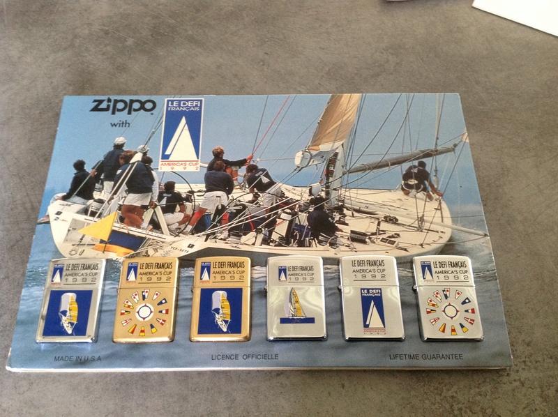 Zippo Le Defi Français America'Cup 1992 Image10