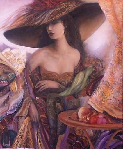 """Des élégantes  """"chapeautées"""" ... - Page 15 04948410"""