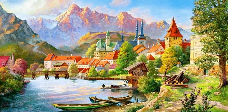 Tous les paysages en peinture. - Page 8 699x3410