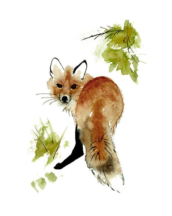 Les animaux peints à l'AQUARELLE - Page 7 89392e10
