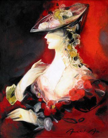 """Des élégantes  """"chapeautées"""" ... - Page 15 Ac001810"""