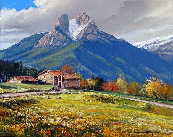 Tous les paysages en peinture. - Page 8 Albert11
