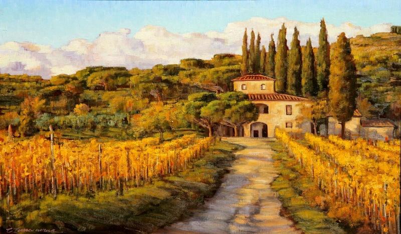 Tous les paysages en peinture. - Page 9 Caroli10