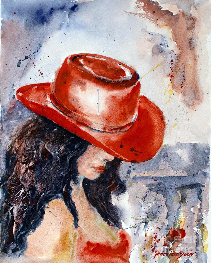 """Des élégantes  """"chapeautées"""" ... - Page 15 Lady-i10"""