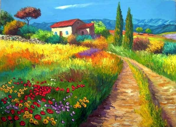 Tous les paysages en peinture. - Page 9 Photo-10