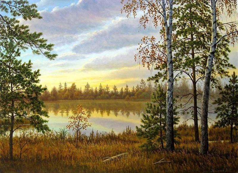 Tous les paysages en peinture. - Page 8 River-10