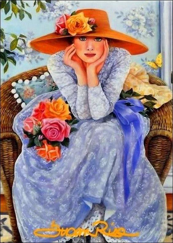 """Des élégantes  """"chapeautées"""" ... - Page 15 Susan_10"""