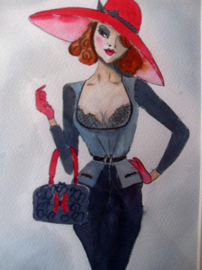 """Des élégantes  """"chapeautées"""" ... - Page 15 Tumblr10"""