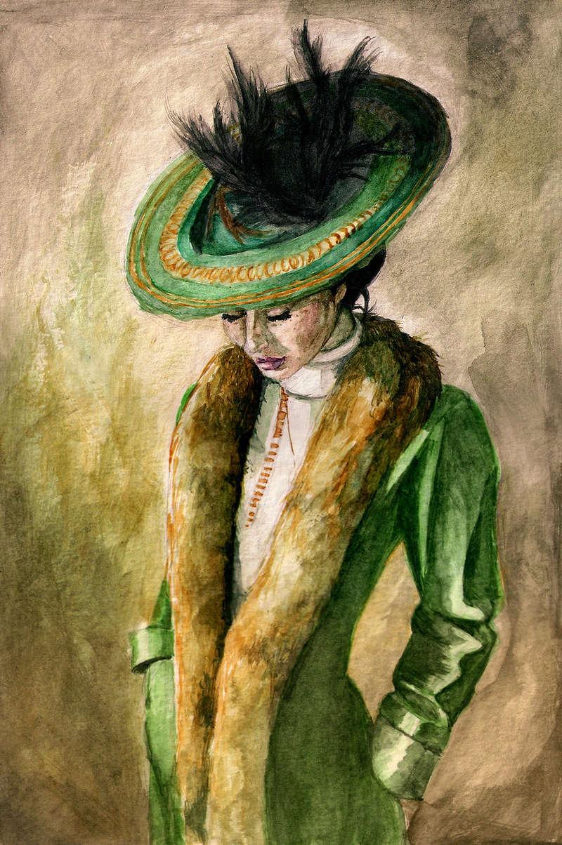 """Des élégantes  """"chapeautées"""" ... - Page 15 Under_10"""