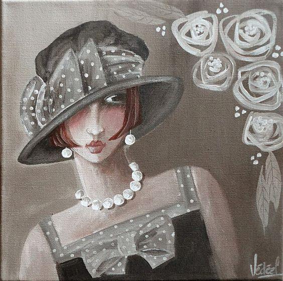 """Des élégantes  """"chapeautées"""" ... - Page 15 Veroni11"""