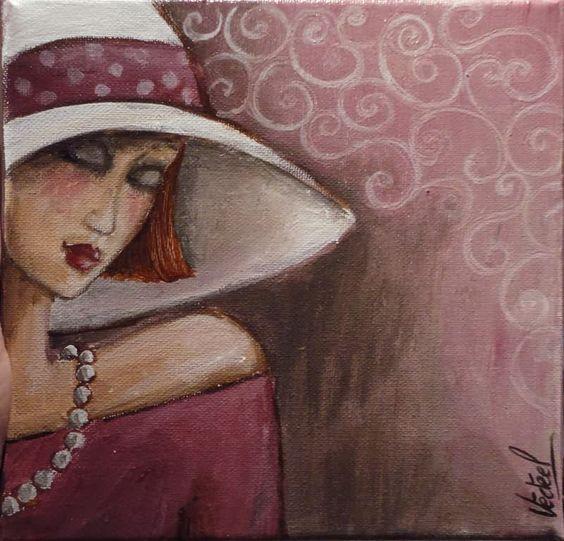 """Des élégantes  """"chapeautées"""" ... - Page 15 Veroni12"""