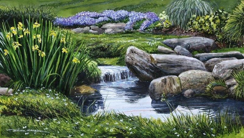 L'eau paisible des ruisseaux et petites rivières  - Page 14 Willia10