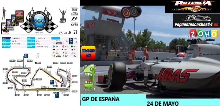 10ª Carrera. GP de España en Montmelo Mont11