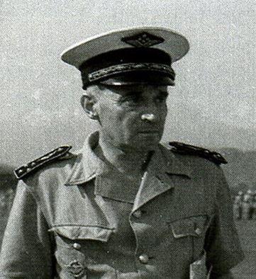 André HARTEMANN , premier Chef de Corps du 1er RCP Capt10