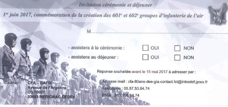 le 80ème anniversaire de la création des 1er GIA et 2éme GIA à Orléans Bricy Fr10