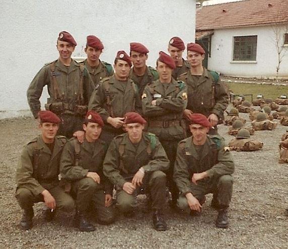 1er RCP , La 1ere Compagnie camp d'Idron. La_110