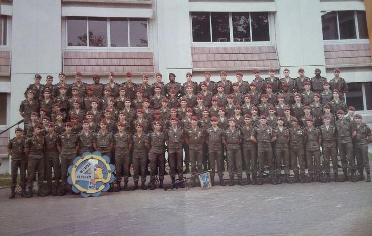 1er RCP la 4eme compagnie camp d'Idron - du Hameau La_410