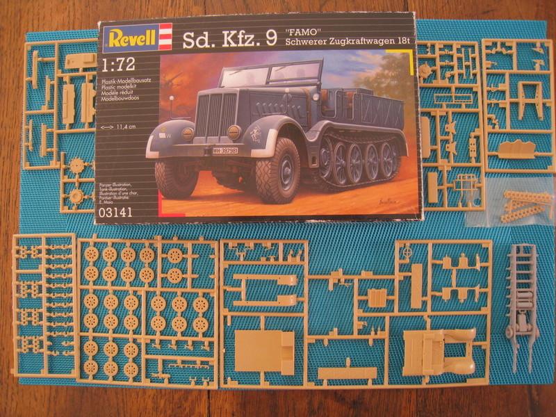 """[Revell ]- Sd. Kfz. """"FAMO"""" Schwerer Zugcraftwagen 18T Img_3111"""