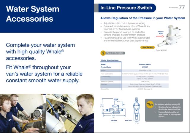 Problème pompe à eau immergée Presso12