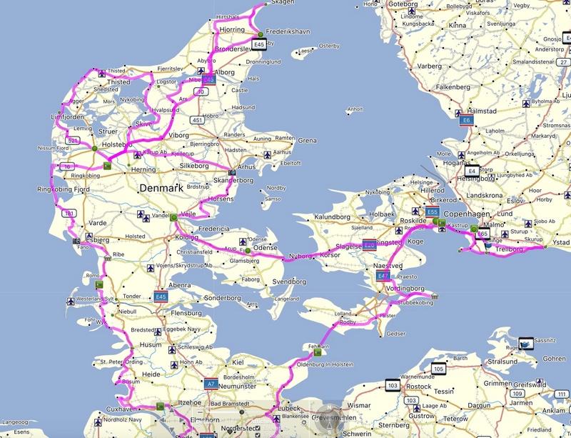 Annie & Denis au Danemark - Page 2 Voyage11
