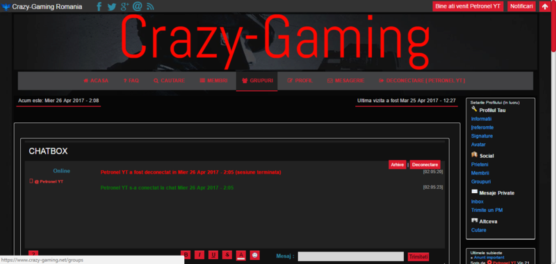 Tema Crazy-Gaming V6 Captur16