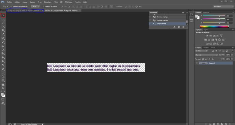 Tuto   Faire une série de screenshots de qualité avec logs. Captur14