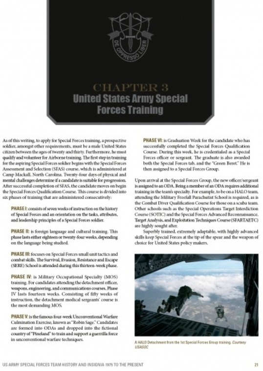 New Book Release ! US Army Special Forces Team History and Insignia 1975 to Present 97807610