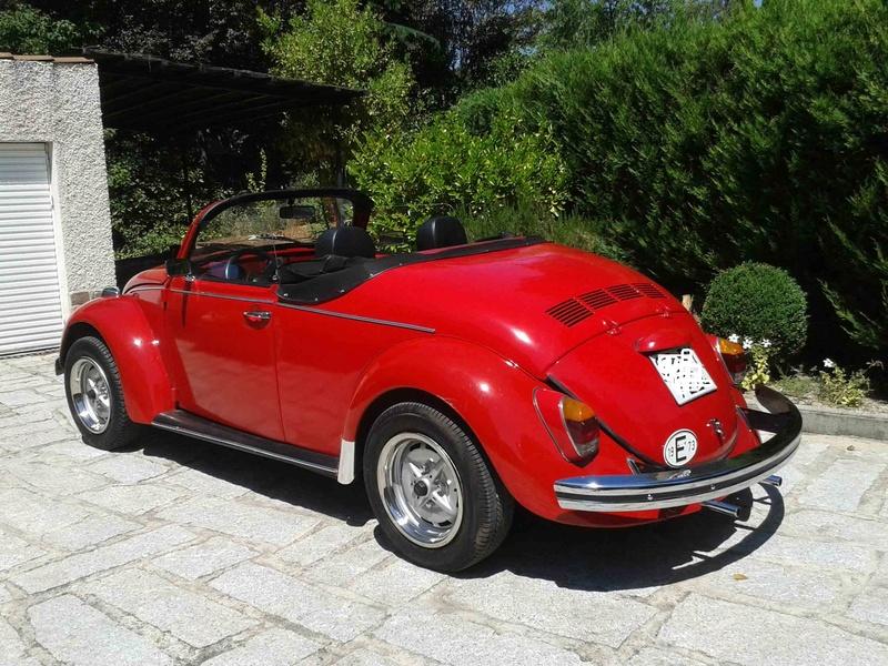 Vendo Escarabajo Speedster 1973 20130713