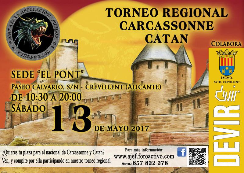 Torneo clasificatorio Catán y Carcassone 13 de Mayo 2017 Cartel10