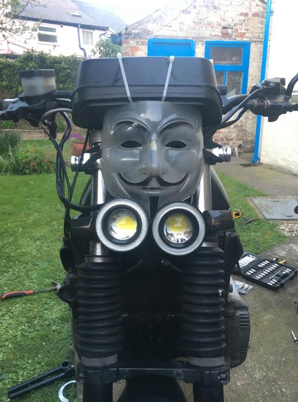 K100 powered Morris Minor 1000 Img_1619