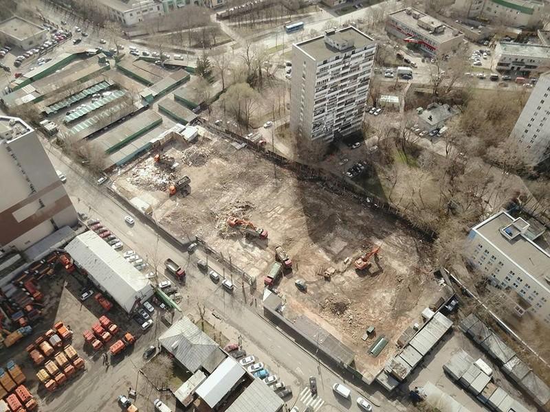 """Снос старых строений на территории бывшего """"Водоприбора"""" начнется с дальних площадок - Страница 4 17952910"""