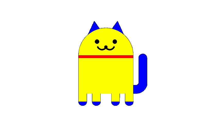 [練習]google電子喵-2D範例 Uyu111