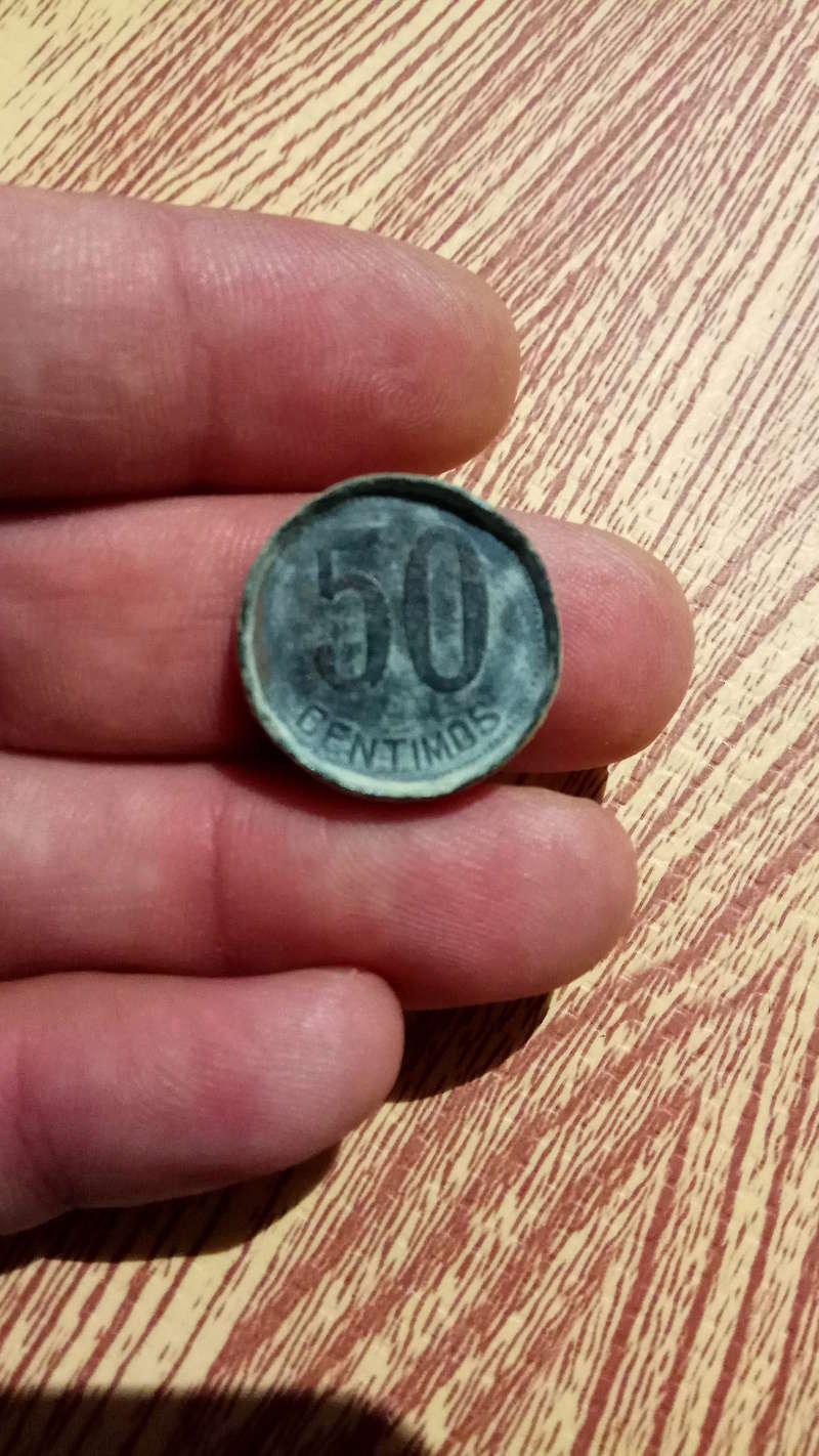 ficha o moneda 50 centimos republica española Img_2022
