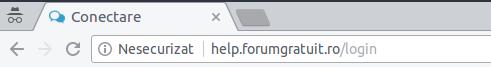 """De ce pe forumul meu apare eticheta """"Nesecurizat""""? Ssl10"""