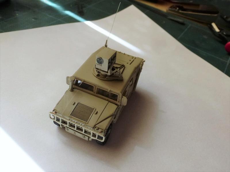HMMWV (Hummer) 1/72 Revell et Dragon Hmmwv_11